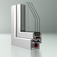 合成樹脂製窓システム