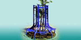 Rede para protecção de árvores