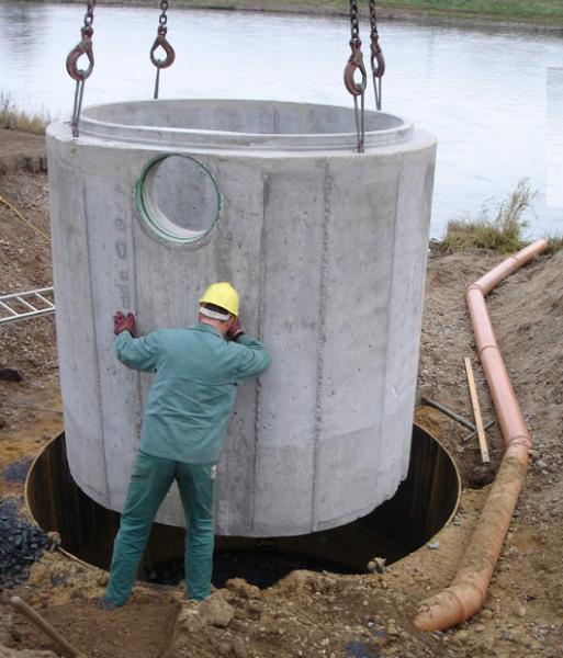 Construction de voies fluviales