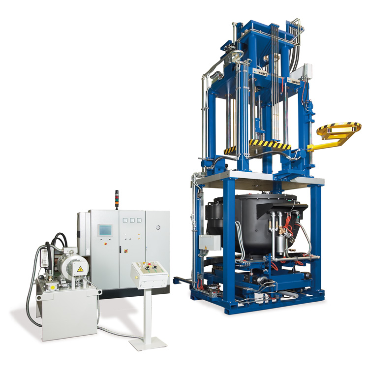 Machines de fonderie