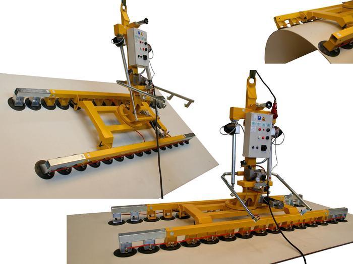 Vakuumheber Kombi 7031-DSG3 für Produktion und Werkstatt