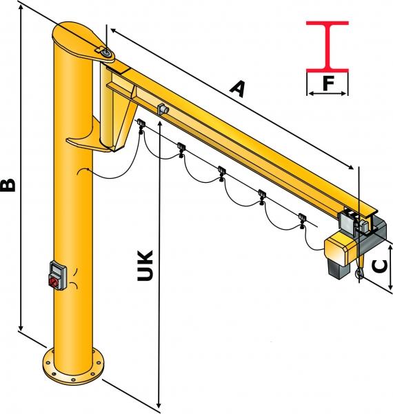 Rotary crane / Hans Heidkamp GmbH & Co. KG