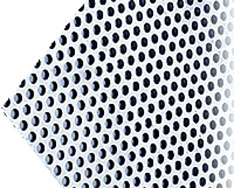 Chapas perforadas de aluminio