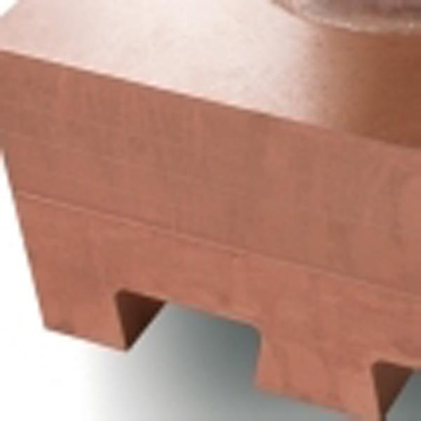 Plaque de refroidissement en cuivre