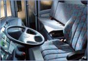Obložení řidičské kabiny