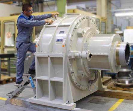 Turboplanetengetriebe / Voith Turbo BHS Getriebe GmbH