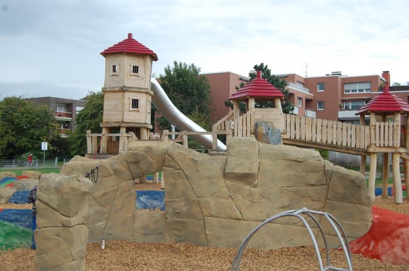 Configuración de parque infantil