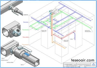 Pneumatikleitungssysteme / Teseo Deutschland GmbH