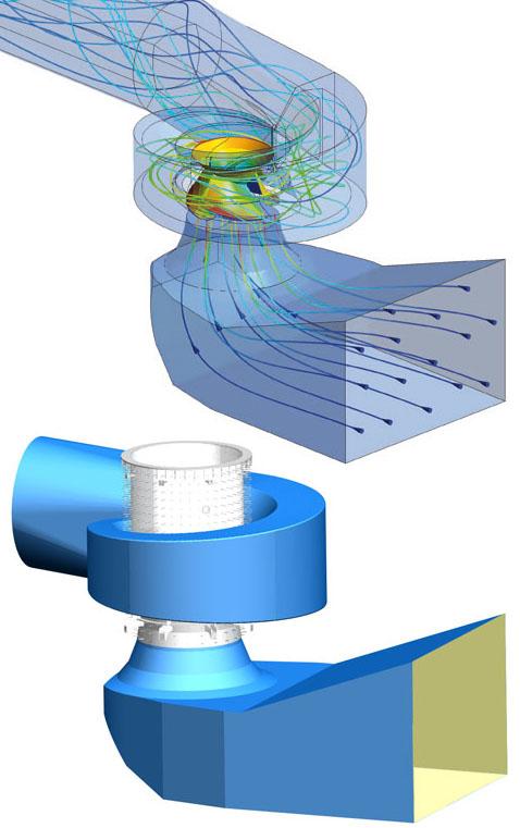 ANDRITZ Vertical Concrete Volute Pumps