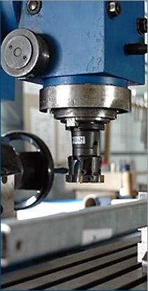 Frezowanie na elementach powierzonych CNC