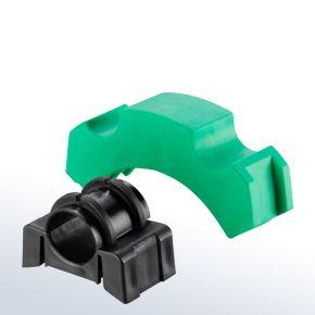 Abrazaderas para tuberías cilíndricas