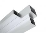 Barre quadrate in alluminio
