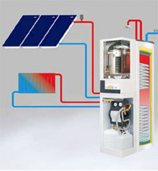 Armazenador solar
