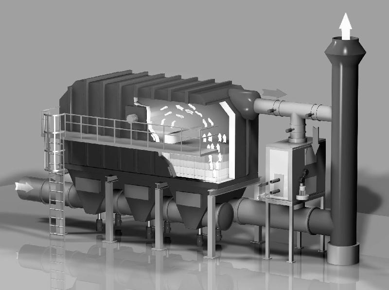 Abluftreinigungsanlagen / inTEC GmbH Lackiersysteme