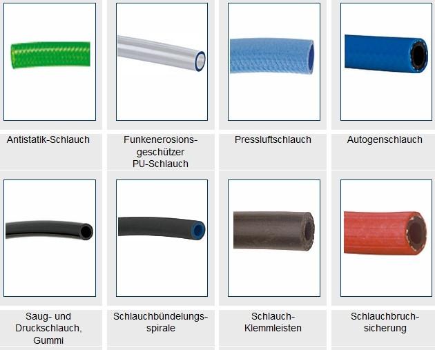 Tubos de plástico en forma de espiral / Otto Annecke GmbH