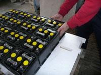 Bleibatterien / Batterie-Zippel