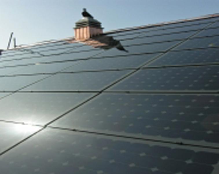 Instalação solar em edifícios