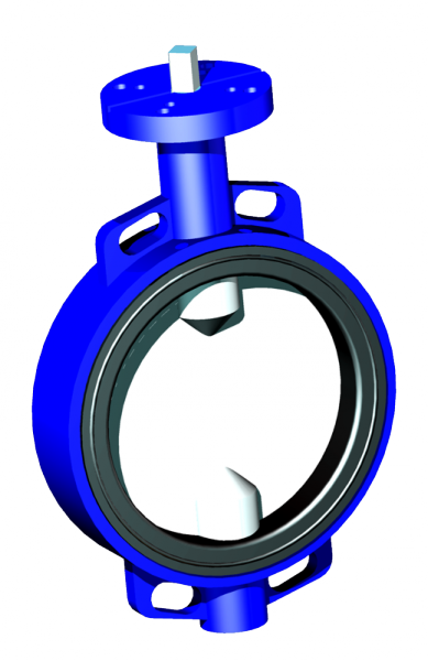 Kruhová uzavírací klapka