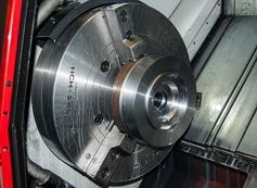 Partes rotativas de alumínio