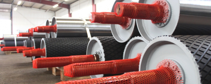 germanBelt Steel GmbH - Pulleys for Conveyor Be...