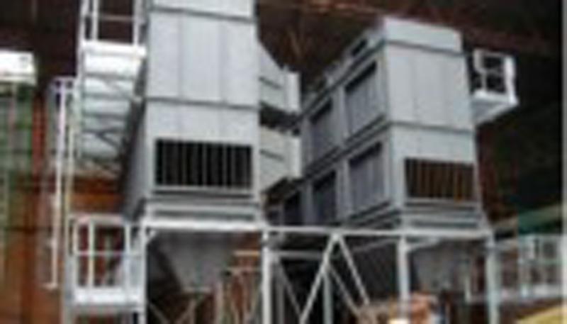 Очистительные установки для выхлопных газов