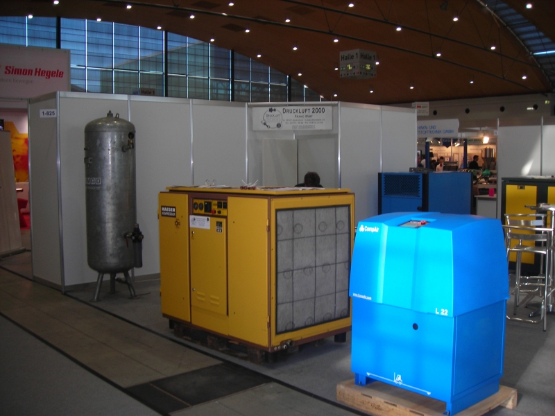 Použité tlakovzdušné kompresory