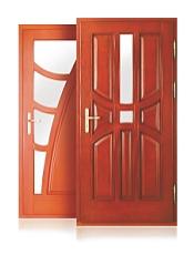 Puertas de habitaciones de madera