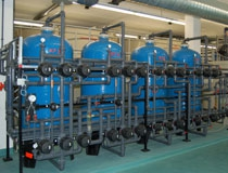 Impianti per il condizionamento di acque reflue