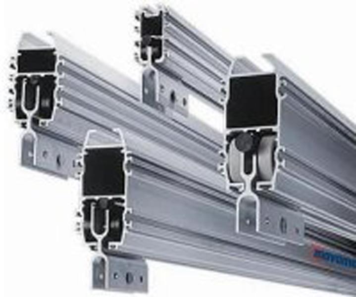 Aluminiumschienenführungen