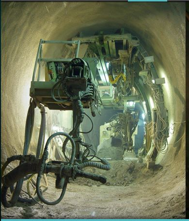 حفر الأنفاق