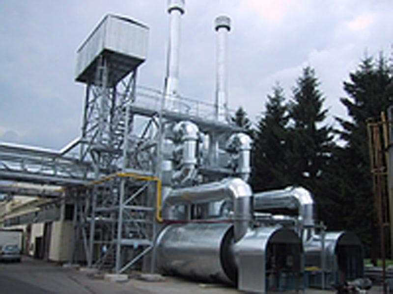 Impianti di purificazione scarico aria