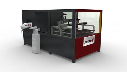 レーザー印刷設備