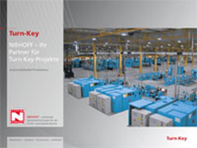 Instalações de chave-na-mão