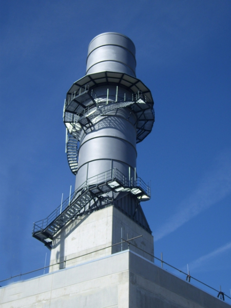 換気タワー