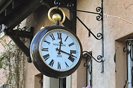 внешние часы