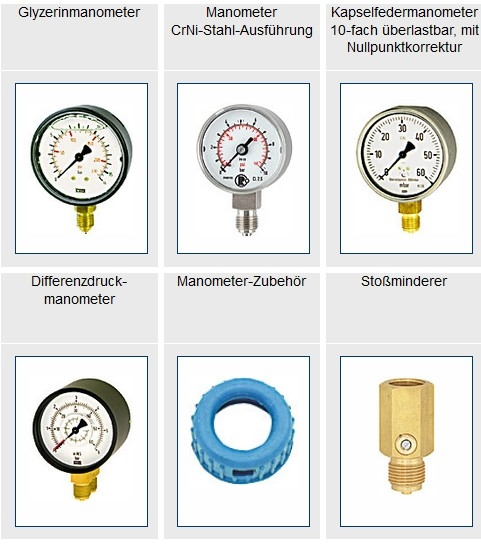 Aparelhos de medição da pressão de ar / Otto Annecke GmbH