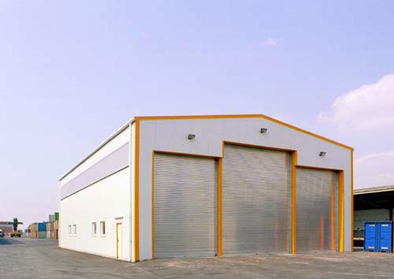 Stavba řemeslnických hal
