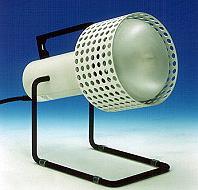 Radiadores de rayos infrarrojos
