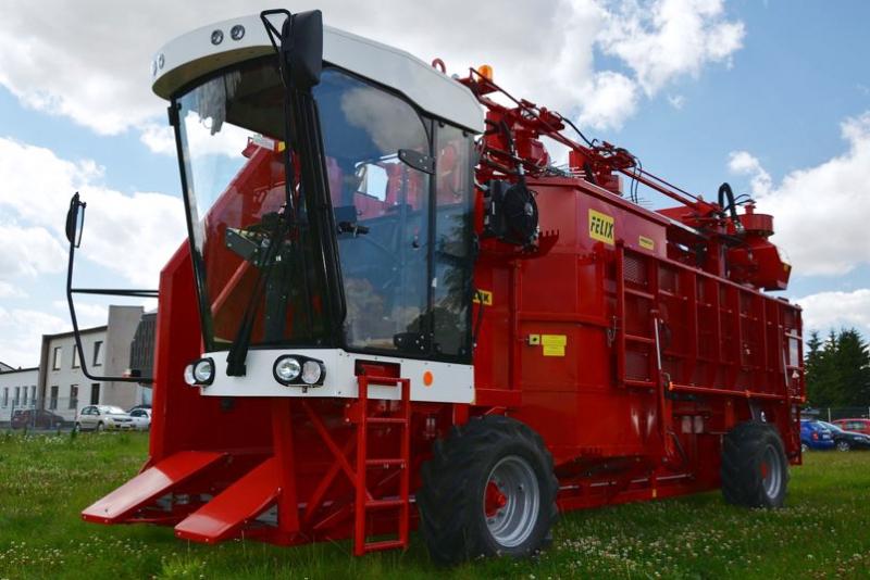 машины для сбора урожая