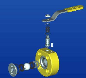Plynové uzavírací ventily