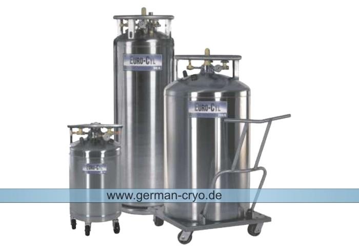 Flüssigstickstoffbehälter / Jutta Ohst german-cryo GmbH