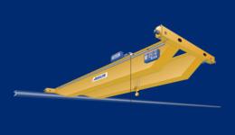 Double-girder overhead travelling crane