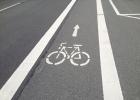 Marquage de pistes cyclables