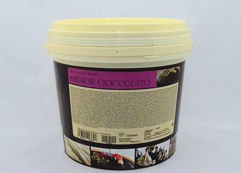 Spiegelüberzug für Kuchen Zartbitterschokolade
