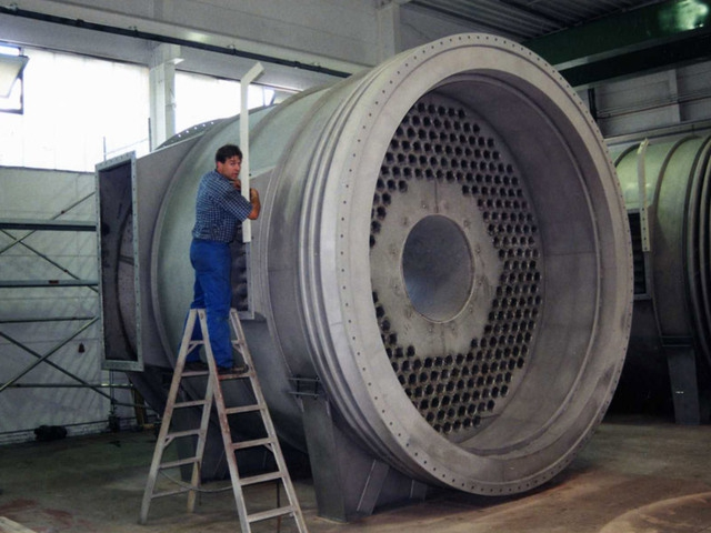 排気ガス熱交換機