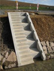 Beton lépcsők