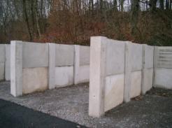 Hotové betonové díly