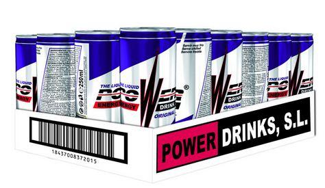 Bebidas energéticas / POWER DRINKS , S.L