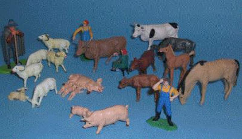 Figuras de plástico