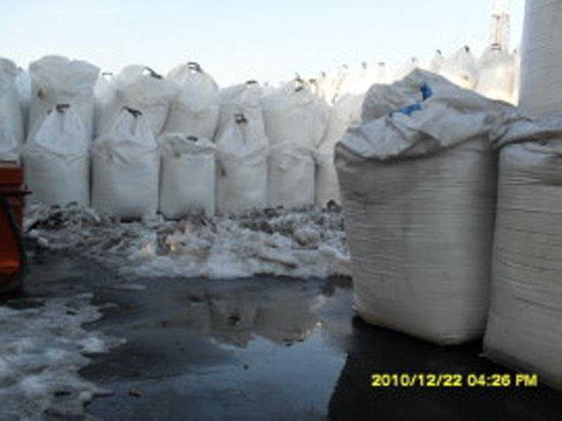 Sól do posypywania ulic